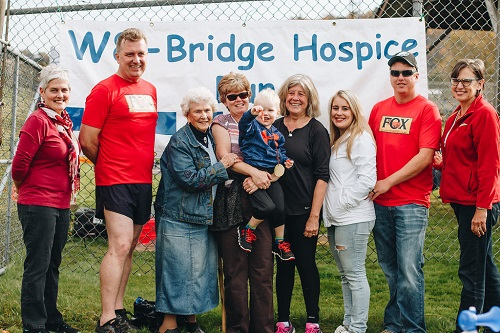 Memorial to former runner at W8 hospice fundraiser