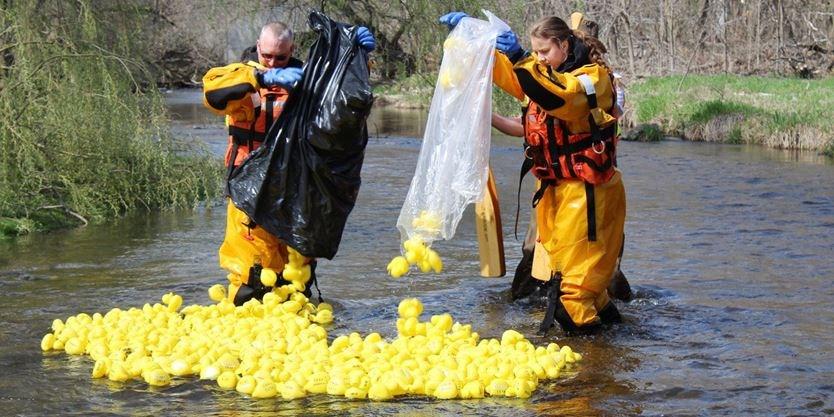 Spring Walk & Rubber Duck Race 2019